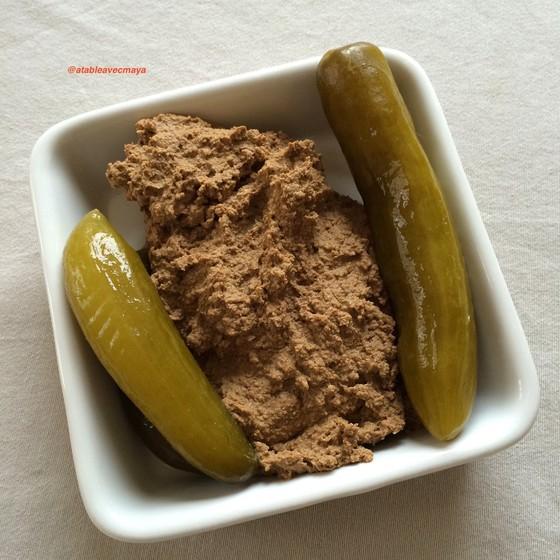 Foie haché ou gehakte leber