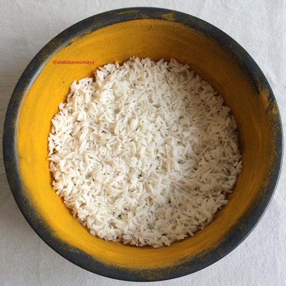 4-biriani-1ere-couche-riz