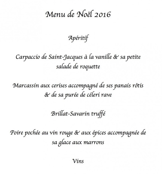 Idee Menu Jour De Noel.Inspiration Pour Le Menu De Noel Ou De Nouvel An A Table