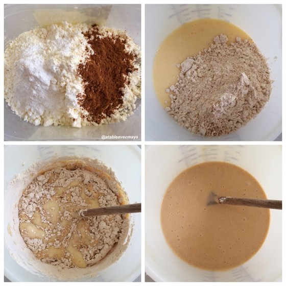 Gateau chocolat noisettes