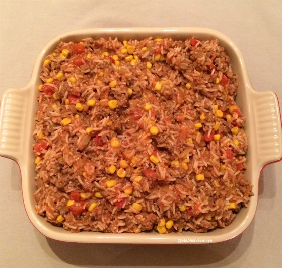 Boeuf facon enchiladas