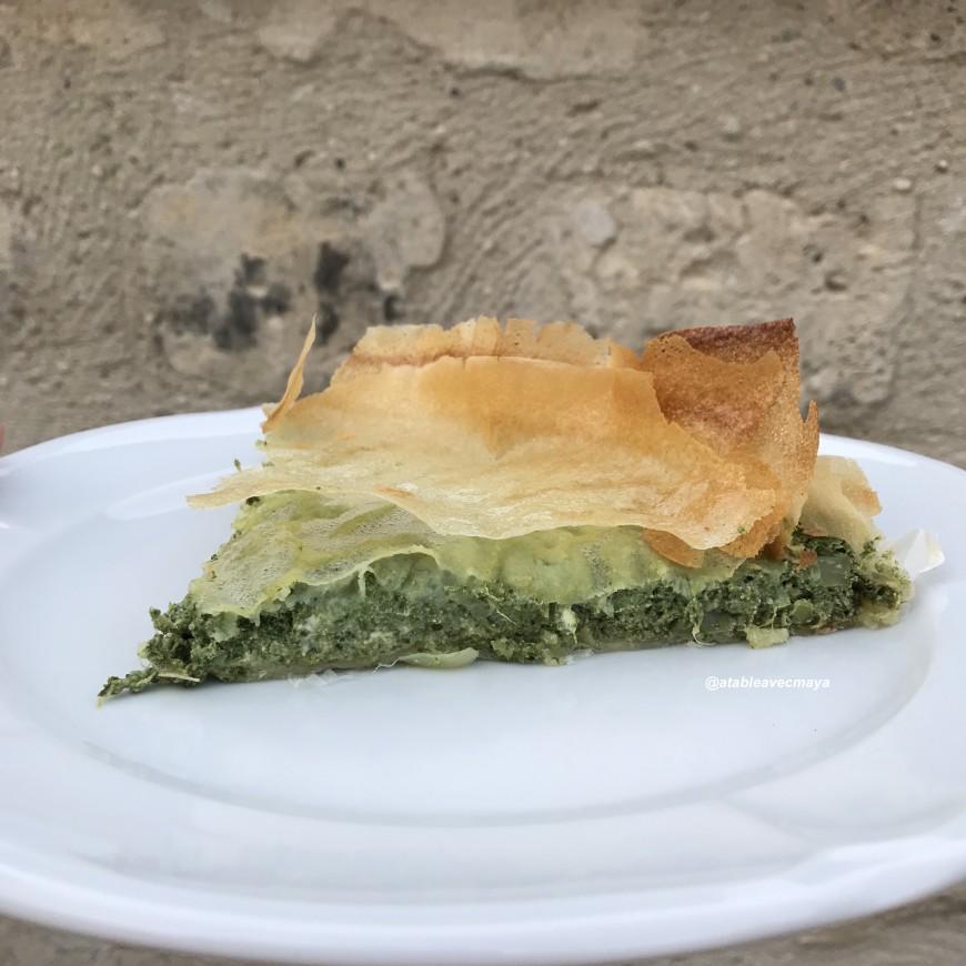 Epinards et ricotta en tarte de feuilles de brick a - Cuisiner avec se que j ai dans mon frigo ...