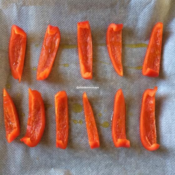houmous au poivron