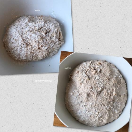 pains de campagne aux noix