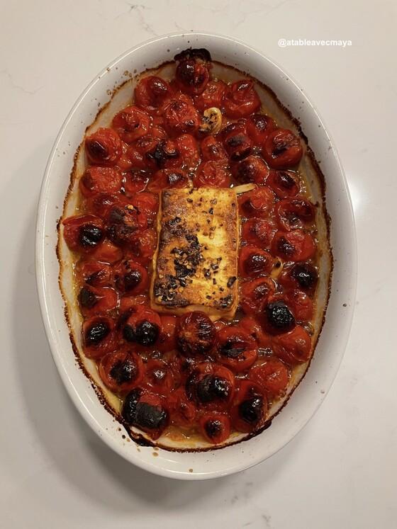 Pates feta tomate